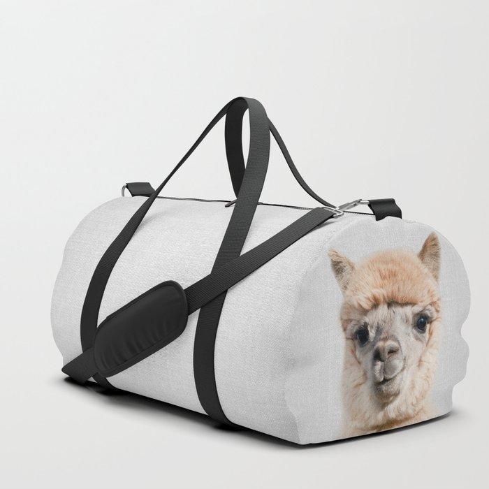 Alpaca - Colorful Duffle Bag