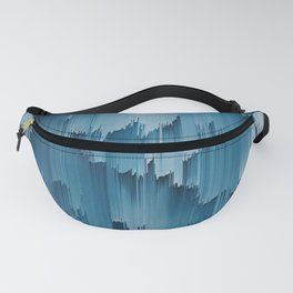 Abstract Glitch Pixel Art 707 Fanny Pack