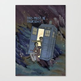 This Must Be Thursday Canvas Print