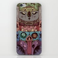 totem iPhone & iPod Skins featuring Totem by kitsunebis