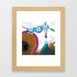 Winery Framed Art Print