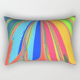 Re-Created  Archangel Wing 4 by Robert S. Lee Rectangular Pillow