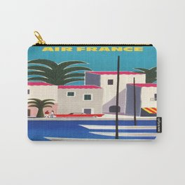 Vintage poster - French Riviera Carry-All Pouch