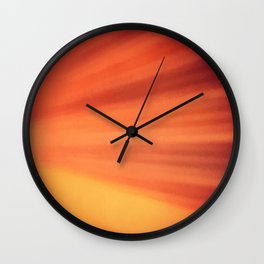 Burning Passion Wall Clock