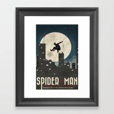 Spider-Man Turn Off the Dark Poster  Framed Art Print