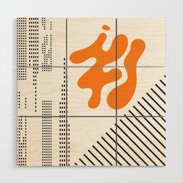Mid-Century Modern Art Future Wood Wall Art