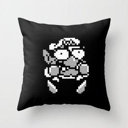 Wario 1 Throw Pillow