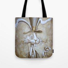 Tim & Jill's Mr. Hasenpfeffer Victorian Style Portrait Tote Bag