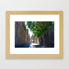 Oxford Alley Framed Art Print