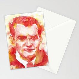 FEDERICO GARCIA LORCA - watercolor portrait.3 Stationery Cards