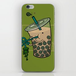 Food Series - Bubble Milk Tea iPhone Skin