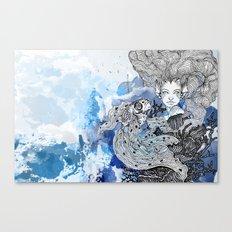 goldie's friend Canvas Print