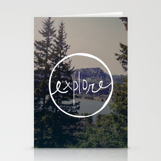 Explore Oregon Stationery Cards