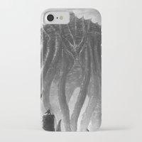 kraken iPhone & iPod Cases featuring KRAKEN by Kirk Pesigan