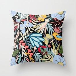 In the Night Garden Throw Pillow