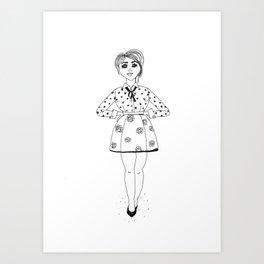 Dressed to Impress Art Print