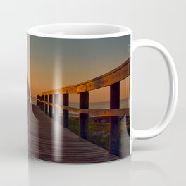 Sunrise thru Boardwalk Coffee Mug