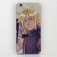 Final Fantasy - Cloud Strife Tribute iPhone & iPod Skin