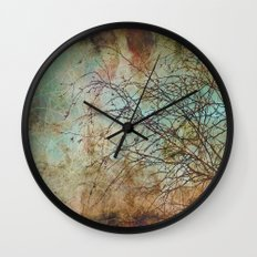 For the love of trees - textured photography Wall Clock
