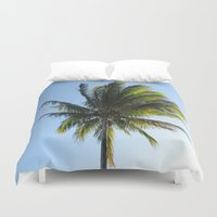 palm Duvet Covers featuring Palm by Percival
