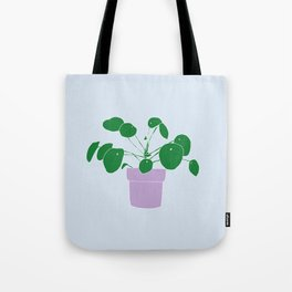 pilea peperomioides Tote Bag