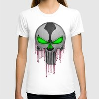 spawn T-shirts featuring Punisher Spawn Mash-Up by Joshua Epling