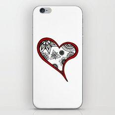 Tangled heart iPhone & iPod Skin
