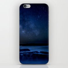 Dark Night California Coastal Waters iPhone & iPod Skin
