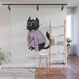 Ready to Party Wall Mural