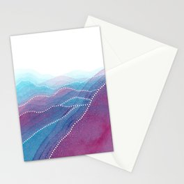 Frequency of the Mountains Stationery Cards
