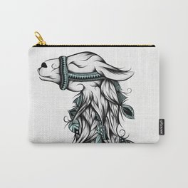 Poetic Llama Carry-All Pouch