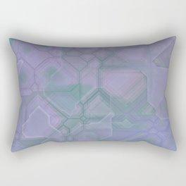 future fantasy lavender Rectangular Pillow