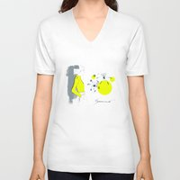 lily V-neck T-shirts featuring Lily*** by youdesignme