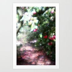 way to the dream Art Print