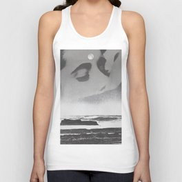 Ghost Waves Unisex Tank Top