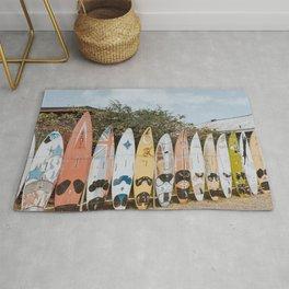 lets surf vii / maui, hawaii Rug