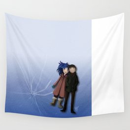 Eternal Sunshine on Ice Wall Tapestry
