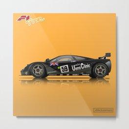 McLaren F1 GTR #01R - 1995 Le Mans Winner Metal Print