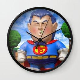 Suppaman Wall Clock