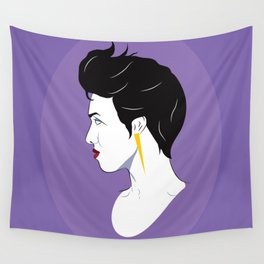 BianCamée Lilas Wall Tapestry