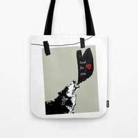 georgia Tote Bags featuring georgia by love is possible