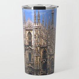 Vintage 1940's Color Photo Duomo di Milano Travel Mug