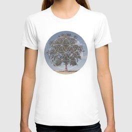 Free Tree Hugs - Geometric Photography T-shirt