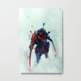 Samurai Spirit II Metal Print