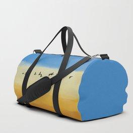 GEESE IN FLIGHT Duffle Bag