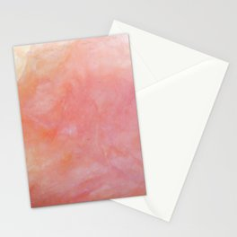 Pink Opal Texture Stationery Cards
