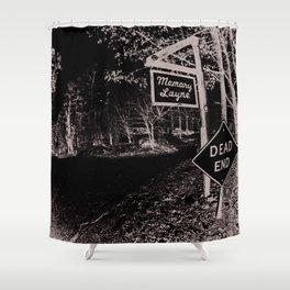 Memory Layne Dead End Shower Curtain