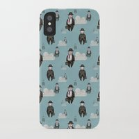 magritte iPhone & iPod Cases featuring Impression Magritte by Gülce Baycık