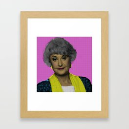 Bea Arthur: The Golden Girls Framed Art Print