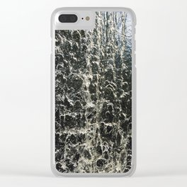 Plunging Waters Clear iPhone Case